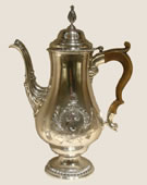 Paul Revere, 1734-1818, Coffee Pot, 1773, Silver and wood