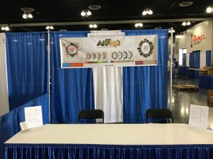 ARTK12 booth...but no books