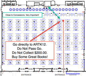 Go Directly to ARTK12. Do Not Pass Go. Do Not Collect $200.00. Buy Some Great Books
