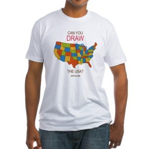 ARTK12 t-shirt: Can you draw the USA?