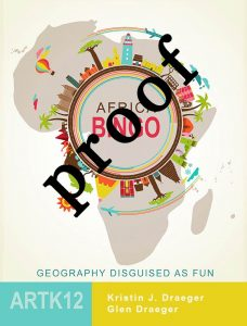 Africa Bingo Cover Proof