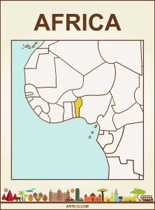 Africa Bingo: Flash Card Country: Benin