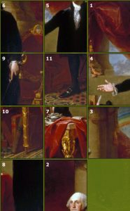 George Washington The Lansdowne Portrait Puzzle