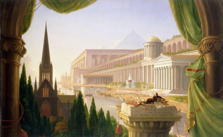 The Architect's Dream by Thomas Cole