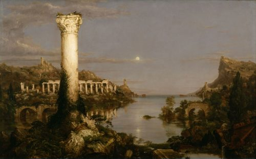 The Course of Empire: Desolation by Thomas Cole