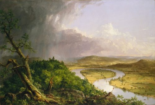 The Oxbow by Thomas Cole