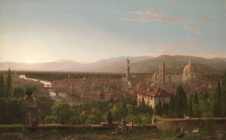 View of Florence by Thomas Cole