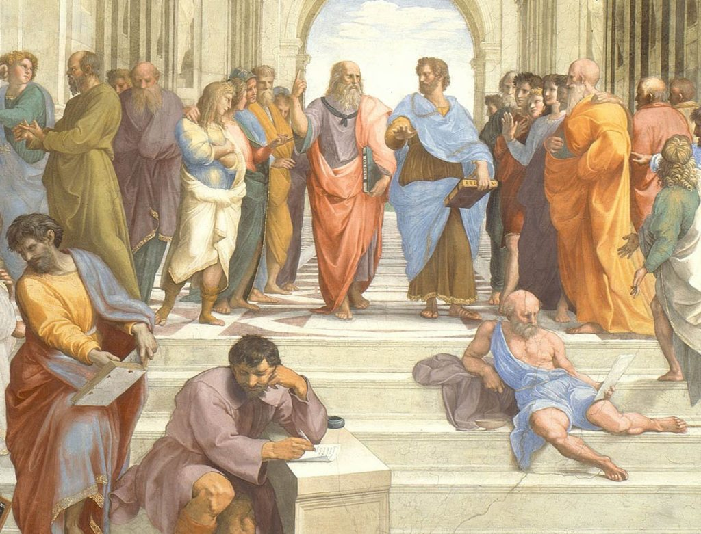 School of Athens: Detail