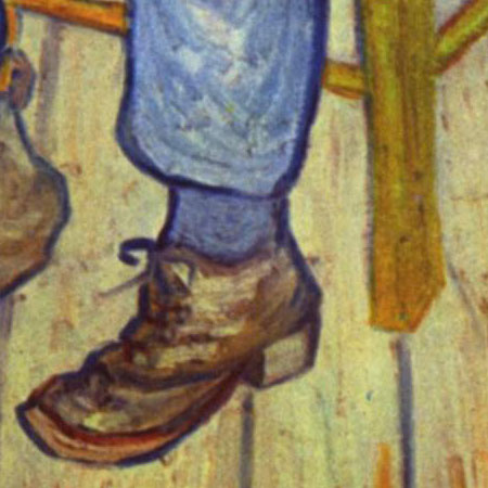 Sorrowing Old Man Detail by Vincent van Gogh