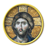 Byzantine Icon of the head of Christ