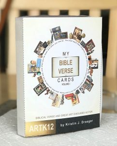 The finished verse card box prototype