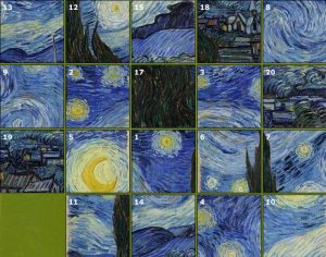 Starry Night by Vincent Van Gogh, the puzzle image