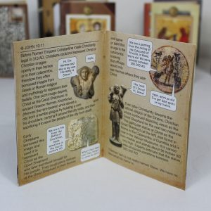 Bible Verse Card: John 10:11 Interior Text