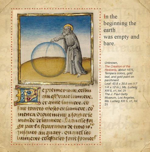 Creation of the World: The Bible and Art: Page 4