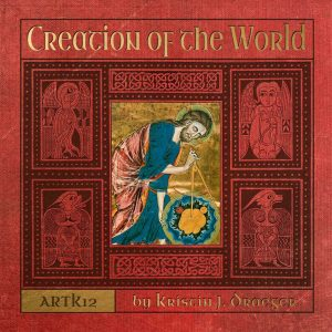 Creation of the World book cover by Kristin J. Draeger at ARTK12