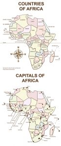 Image of African countries and capitals