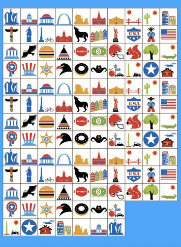 USA Bingo: Bingo Tokens