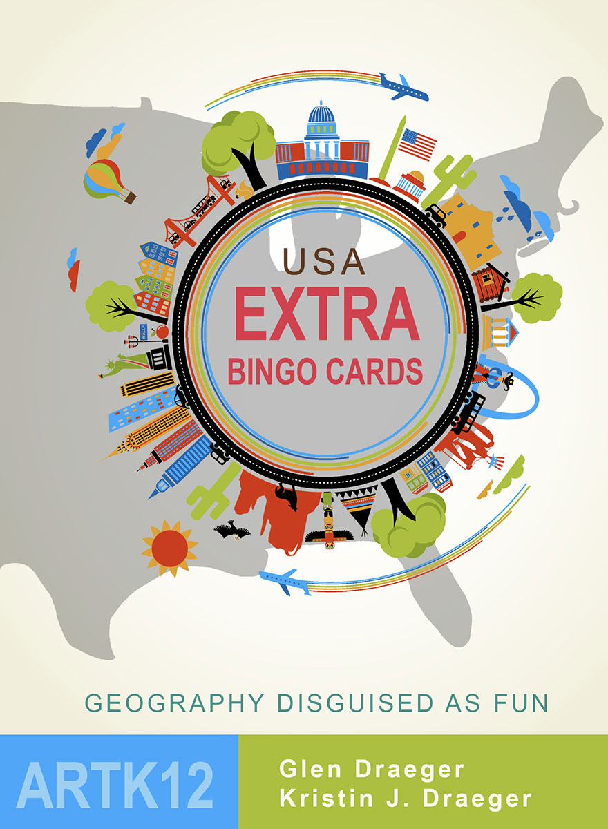 USA Extra Bingo Cards (Book Cover)