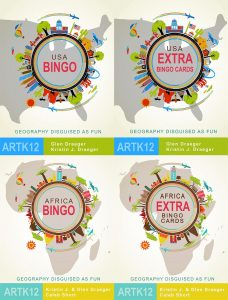 The Geography Bingo Classroom Bundle by ARTK12