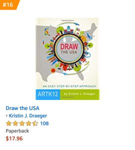 Number 16 on Amazon's Children's Drawing Books