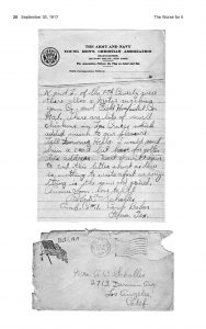 The Worse for It: Robert E. Schalles' letter image, page 1, envelope