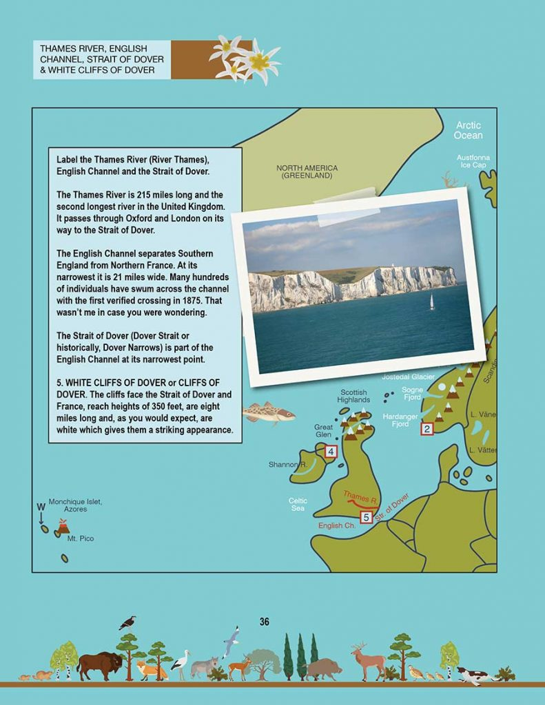 New Geography Book: The cliffs of Dover