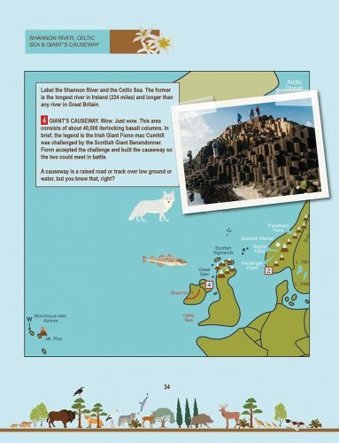 The the Natural Wonders of Europe: The Great Causeway