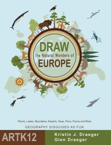 Working Cover for Draw the Natural Wonders of Europe