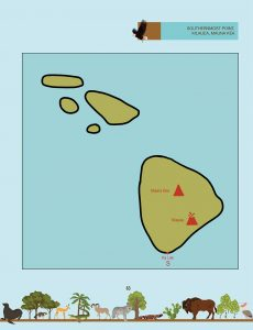 Draw the Natural Wonders of the USA: Hawaii Instructions